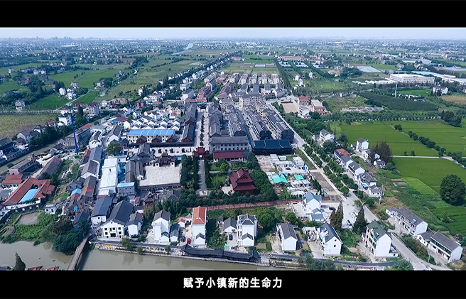 平湖新埭鱼圻塘--小城镇改造